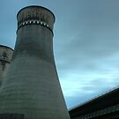 Tinsley Cooling Towers by Mel Preston