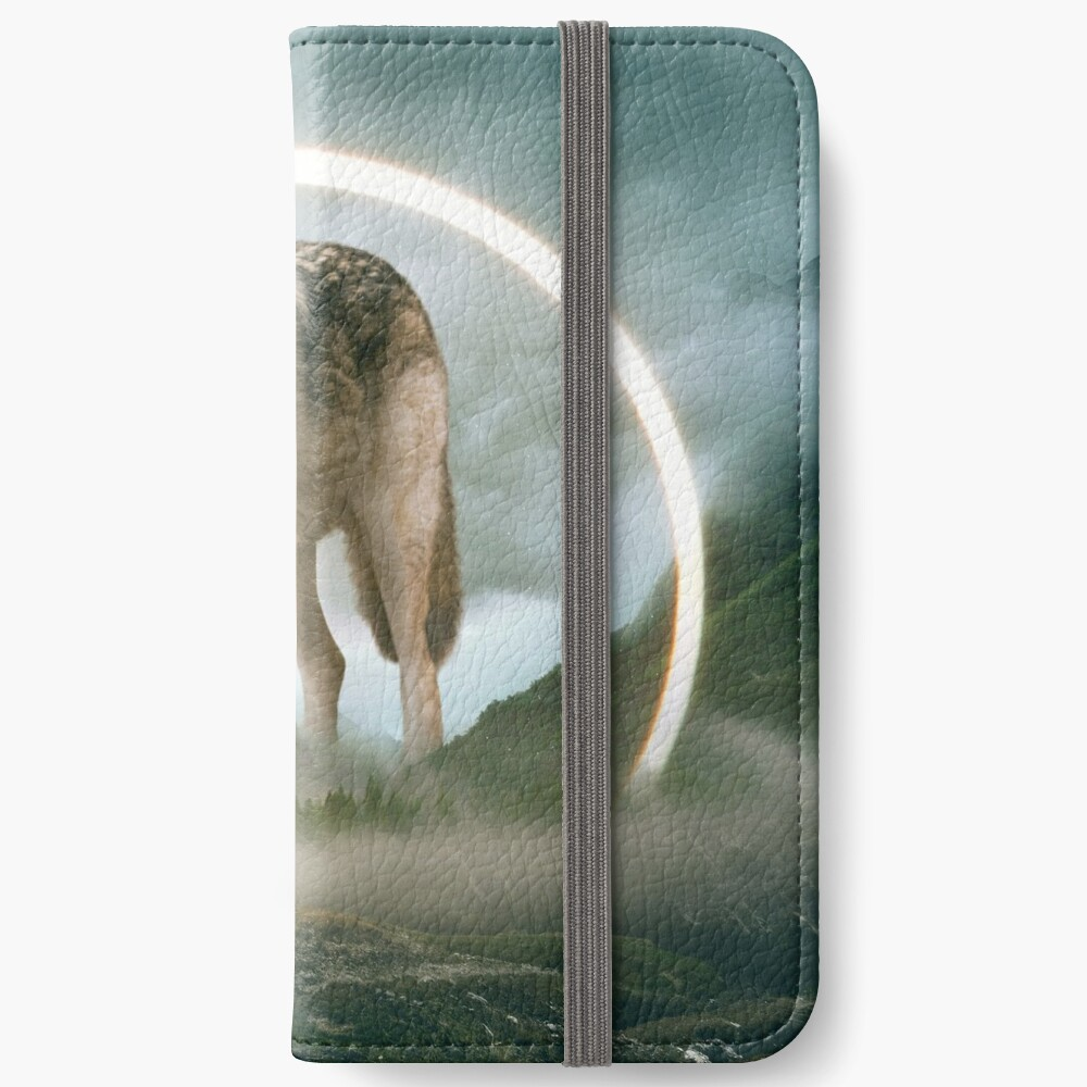 aegis | wolf iPhone Wallet