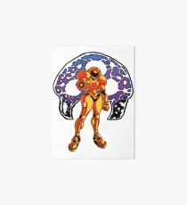 Samus the Fearless - Metroid Art Board