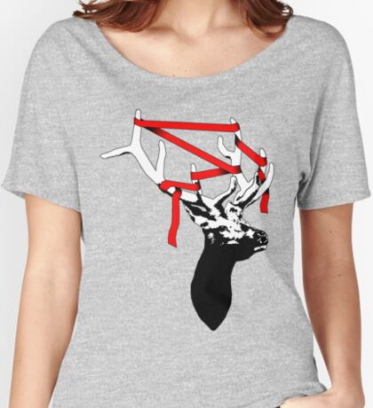 Stag-nant (Red-tape) Women's Relaxed Fit T-Shirt