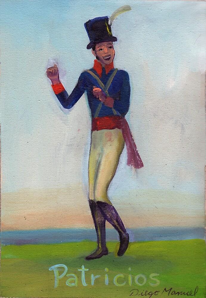 Patricio soldier dancing by Diego Manuel Rodriguez