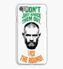 Conor McGregor knock out iPhone Case/Skin