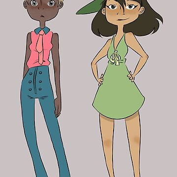 Pastel & Olive by rigged-ink