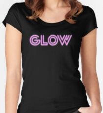Glow Women's Fitted Scoop T-Shirt