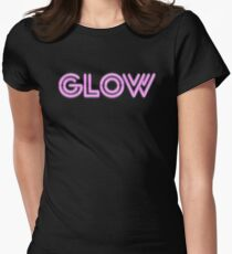 Glow Women's Fitted T-Shirt