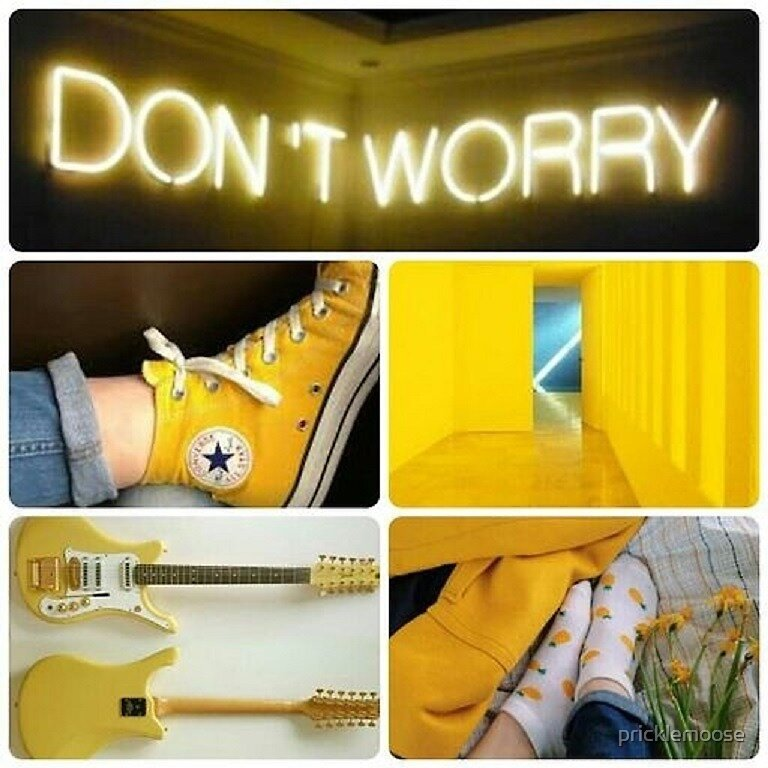 Yellow Aesthetic by pricklemoose