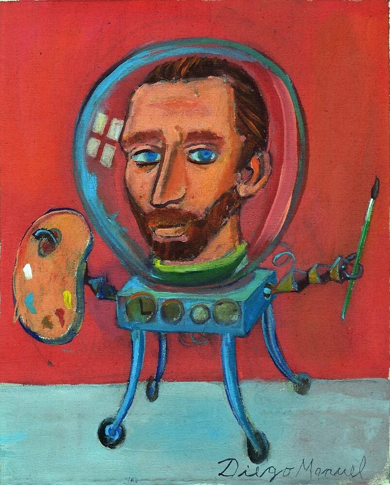Vincent robot by Diego Manuel Rodriguez
