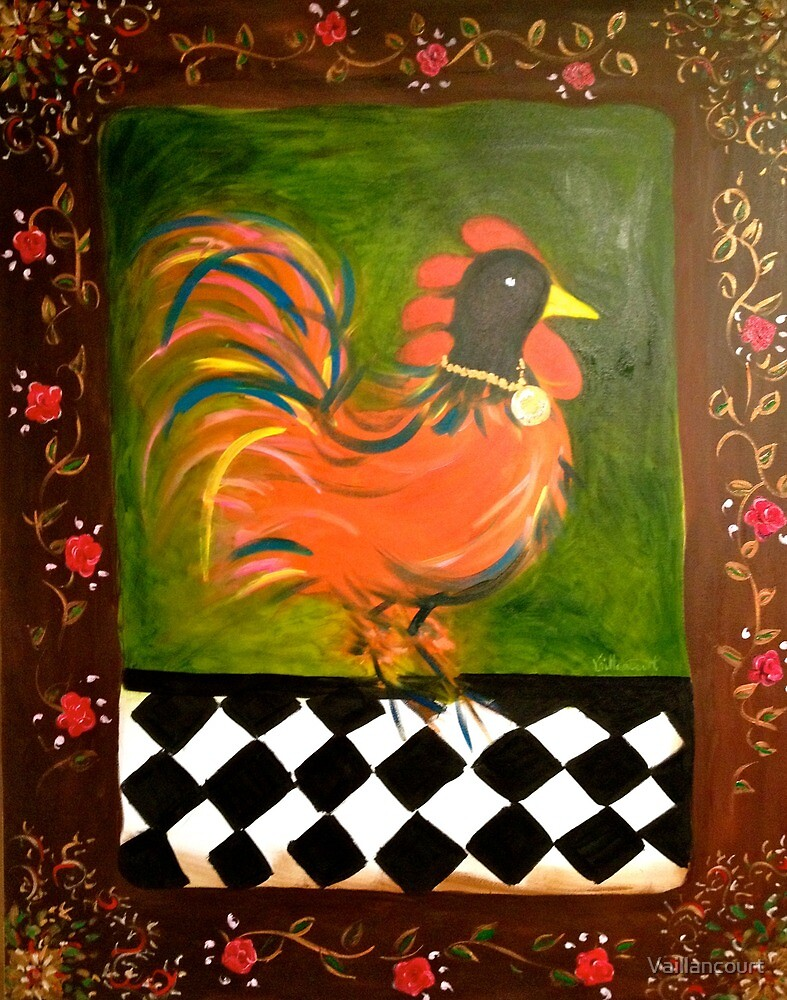 Spanish Rooster by Vaillancourt