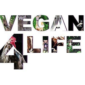 Vegan 4 Life by VeganBear