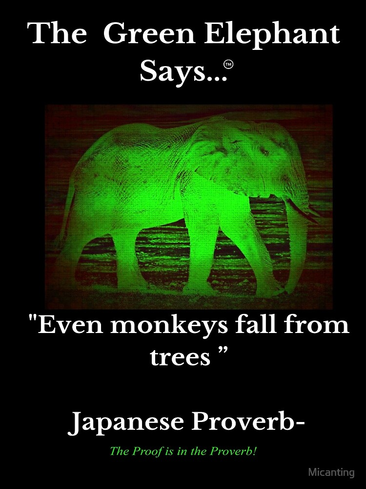 Japanese Proverb by Micanting