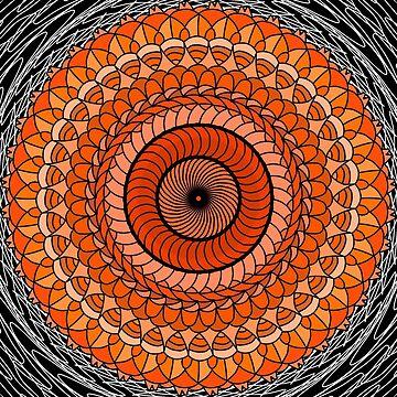 Orange Abstract by TheGayToGayLife