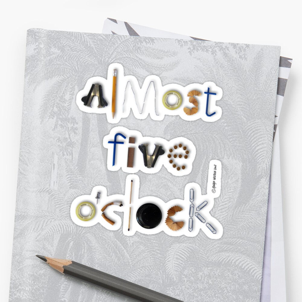 Almost Five O'clock by Ronald Wigman