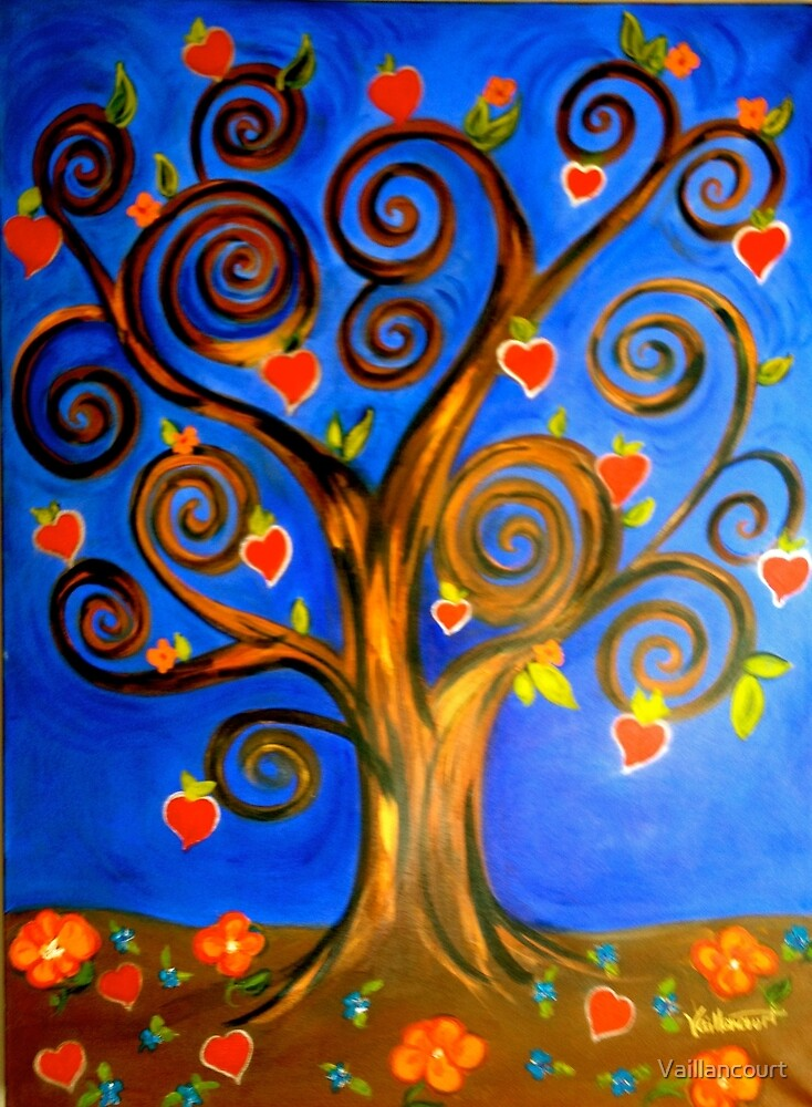 Tree of Life and Love by Vaillancourt