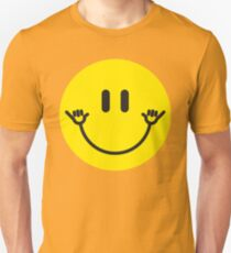 "Smiley Face ""Hang Loose"" Unisex T-Shirt"