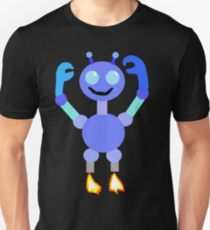 Multi-Colored Robot Unisex T-Shirt