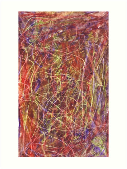 Abstract Expressionism Music Composition by SpieklyArt