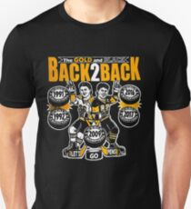 Pittsburgh Gold and Black: Back to Back Stanley Champs!  T-Shirt