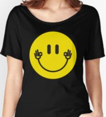 "Smiley Hands ""Okay"" Women's Relaxed Fit T-Shirt"