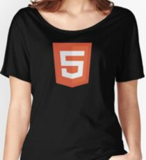HBO SILICON VALLEY 'HTML5' Women's Relaxed Fit T-Shirt