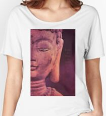 Enter In Peace  Women's Relaxed Fit T-Shirt