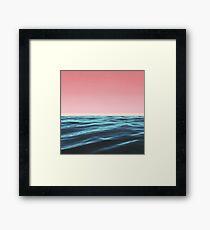 OCEAN LOVE Framed Print