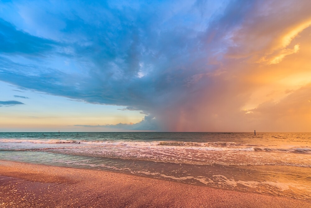 Storms Offshore by peaceriverphoto