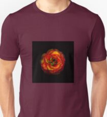 Rose Flower Color Abstract Unisex T-Shirt