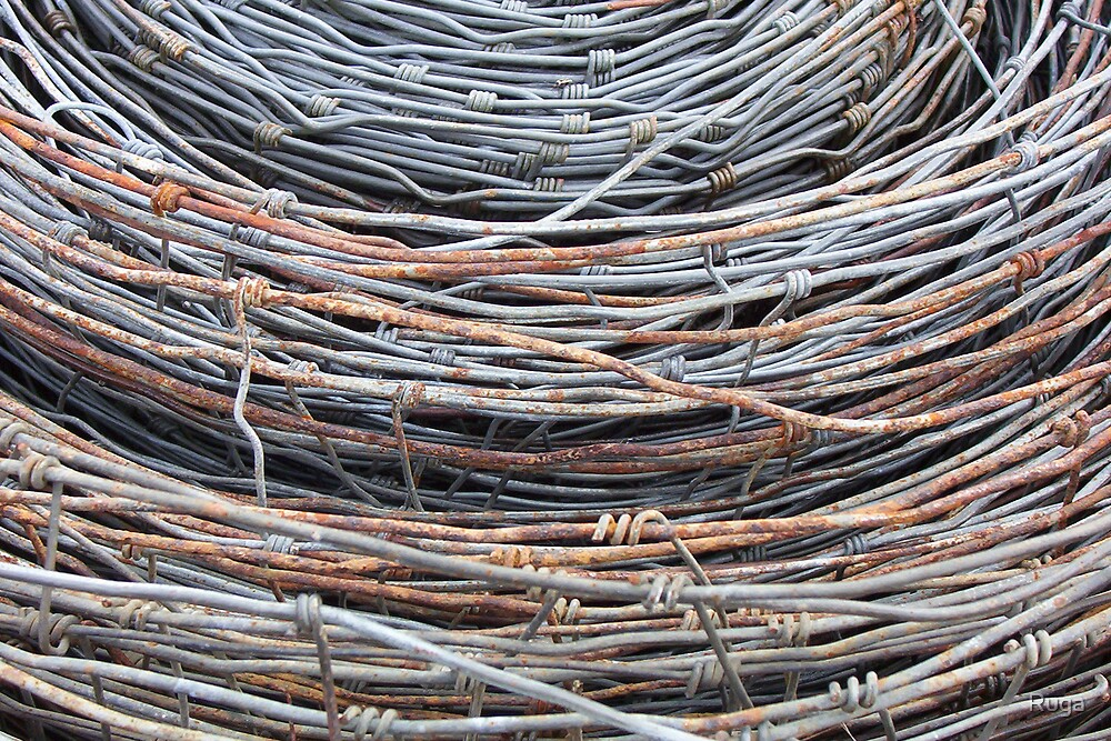 wire bale by Ruga