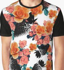 Strawberries & Flowers Graphic T-Shirt