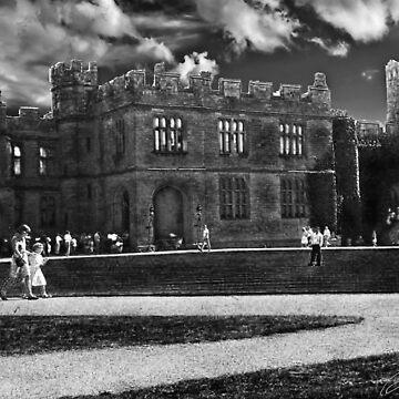 Warwick Castle (Vintage Series) by djaphotography
