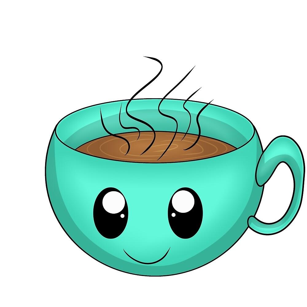 Kawaii Coffee by Xinoni