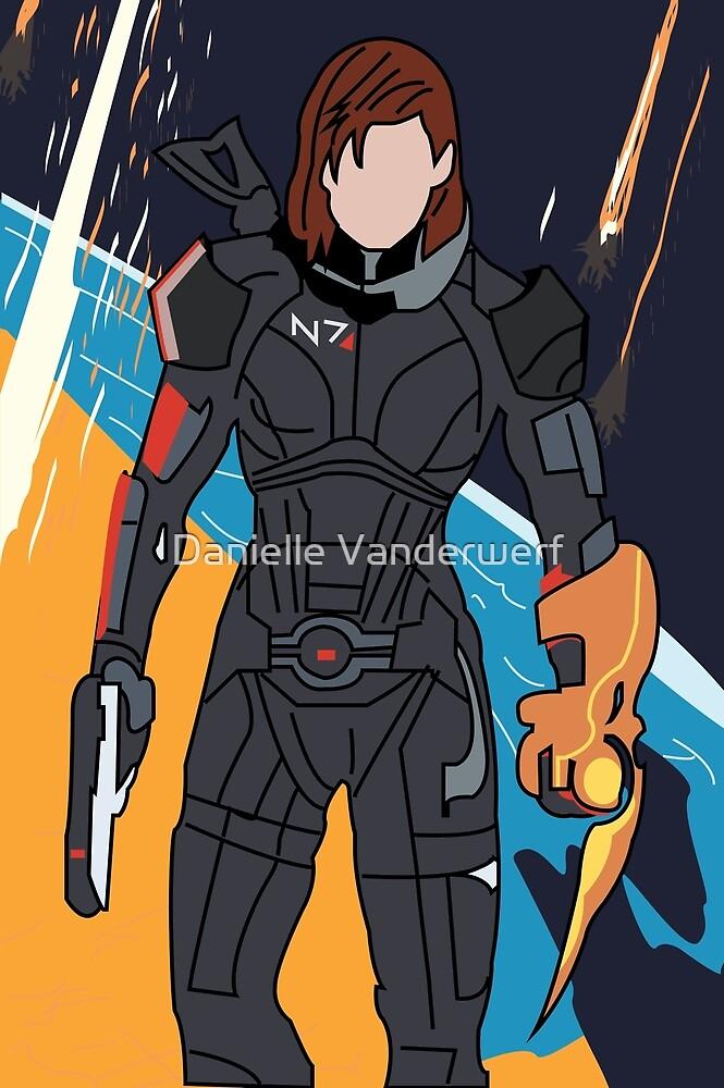 Commander Shepard  by Danielle Vanderwerf
