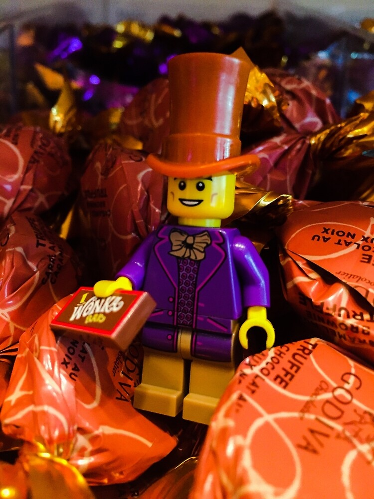 Brickography Pictures - Wonka by Phantomdrummer