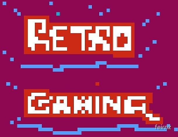 Retro Gaming 8 Bit Flashback by feirnz