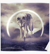 aegis II | wolf Poster