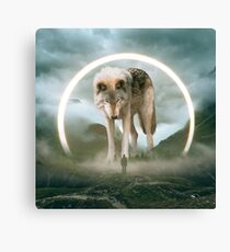 aegis | wolf Canvas Print