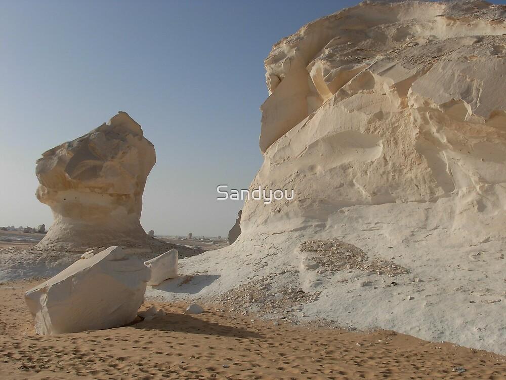 white desert by Sandyou