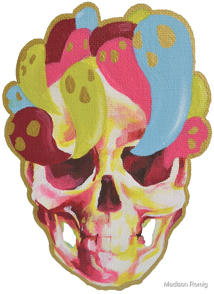 Haunted Skull by Madison Romig