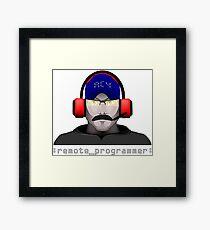 Remote Programmer Framed Print