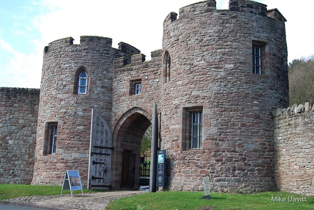 Beeston Castle Gatehouse by Mike Davitt