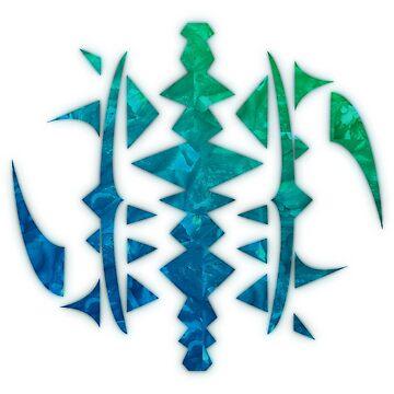 Veskaran Sigil - Blue by Teok