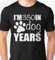 50th Birthday Dog Years Unisex T-Shirt