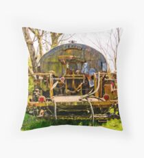 Tanker Throw Pillow