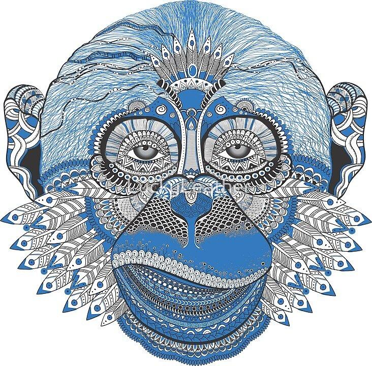 Spirit Monkey by LuckyLeather