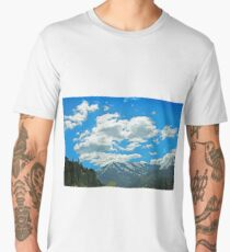 Wood Camp Logan Canyon Men's Premium T-Shirt