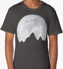 Moon Over Mountains Long T-Shirt