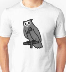 Vintage Artificial Owl 1 Unisex T-Shirt