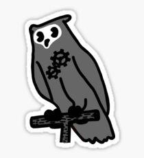Vintage Artificial Owl 1 Sticker