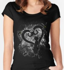 Keyblade Chosen Women's Fitted Scoop T-Shirt