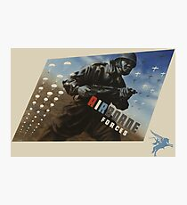 Airborne Forces Photographic Print